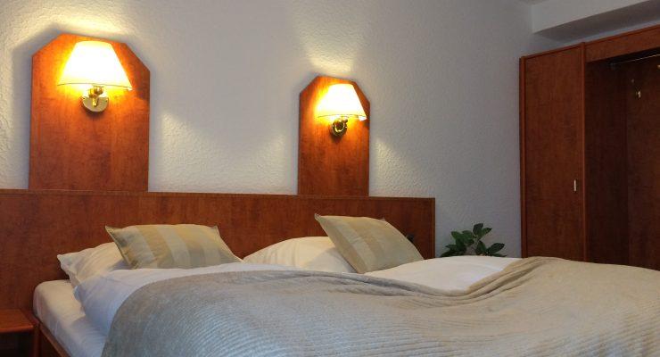 Das Doppelzimmer im Restaurant-Hotel-Pfefferhöhe Alsfeld