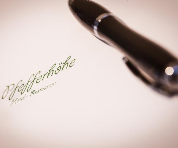 Tagungen in Alsfeld in Hessen: Restaurant-Hotel Pfefferhöhe